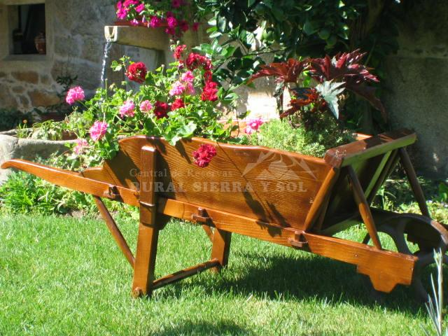 Decorar Jardin Economico Elegant Jardn En Pealolen With Decorar