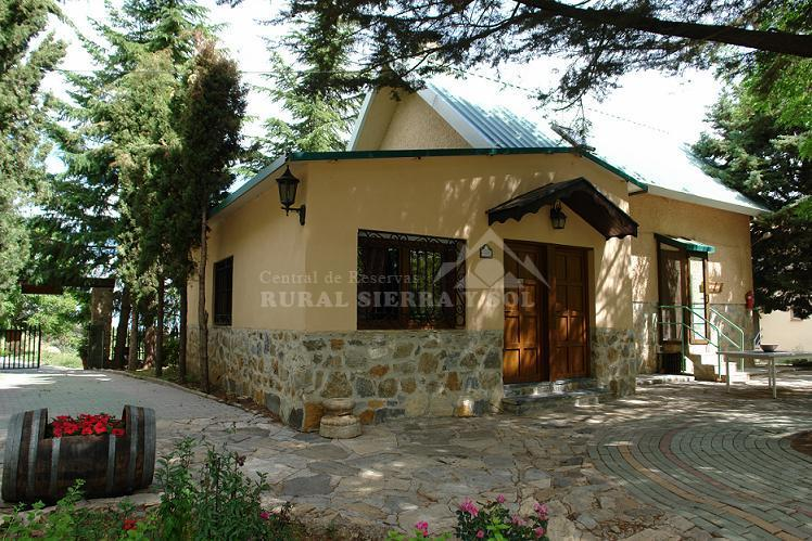 country house beautiful country house in sierra nevada, with